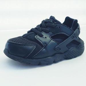 Nike Huarache Run Black Size 8C
